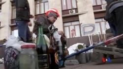 2014-04-09 美國之音視頻新聞: 烏克蘭努力維持對東部地區的控制