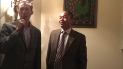 VOA Lao interview Mr. Teuay at Lao Embassy in Washington DC