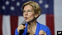 Prezidentlikka intilayotgan demokrat senator Elizabet Vorren ijtimoiy tarmoqlarda eng faol nomzodlardan