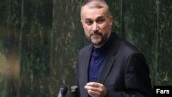 حسین امیرعبداللهیان وزیر امور خارجه ایران. آرشیو