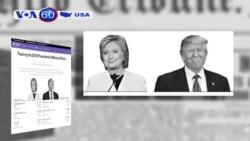 Bà Clinton thu được nhiều tiền hơn ông Trump (VOA60)