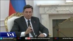 Presidenti i Sllovenisë viziton Kosovën