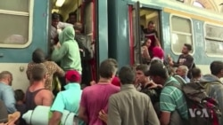 Hungary Allows Migrants Into Train Station, Blocks Travel West