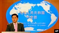 中國駐美大使秦剛。