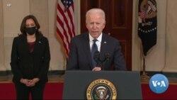 Biden vai discursar no Congresso enquanto marca os seus primeiros 100 dias na Casa Branca