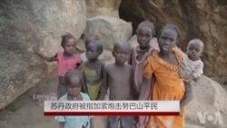 前线报道: 苏丹政府被指加紧炮击努巴山平民