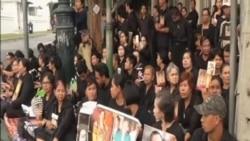 泰國開放前國王靈堂 數萬民眾前往弔唁