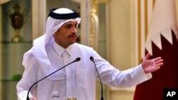 د قطر د بهرنیو چارو وزیر محمد بن عبدالرحمن ال ثاني