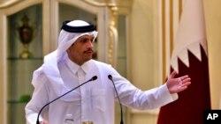 د قطر د بهرنیو چارو وزیر شیخ محمد بن عبدالرحمان آل ثاني