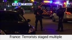 VOA60 World PM - Attacks Across Paris, Dozens Dead