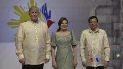 2017-11-12 美國之音視頻新聞: 川普抵菲律賓訪問 (粵語)