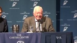 Former President Carter Stays Active Despite Cancer Battle