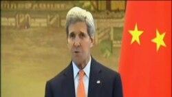克里促中國降低南中國海緊張局勢