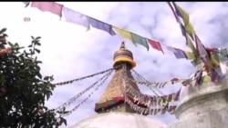 2013-08-06 美國之音視頻新聞: 一名藏人在尼泊爾首都自焚身亡
