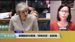 """专家视点(江静玲):英国脱欧对美英""""特殊关系""""的影响"""