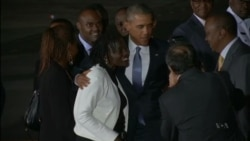 Kenyans Welcome Obama's Visit to Ancestral Homeland