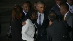 Kenyans Welcome Obama's Visit to Ancestral Homeland