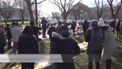 华盛顿港人组织呼吁制裁破坏民主官员 在美推广黄色经济圈