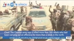 VOA60 Afrikaa - Chad Army Says It Has Stopped Rebel Advance Toward Capital