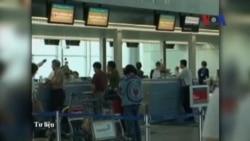 Phi trường Tân Sơn Nhất ngưng trệ vì bị cúp điện