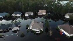 2018-09-24 美國之音視頻新聞: 南北卡州預備颶風降雨引發的洪水
