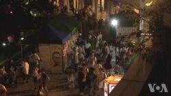 香港中秋民主灯火行动