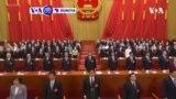 VOA60 DUNIYA: A China 'Yan Jam'iyyar National Peoples Congress Sun Zabi Aiwatar Da Sabuwar Dokar Tsaro Ta Hong Kong