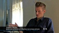 VOA Video Exclusive: Swedish Journalist Describes How He Was Freed