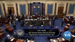 Senate Passes North American Trade Pact