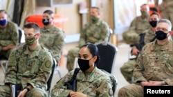 Binh sĩ Mỹ ở Iraq.
