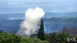 夏威夷基拉韦厄火山继续喷发 出现新裂缝