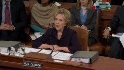 Testimonio de Hillary Clinton sobre Bengasi