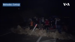 Građani o blokadi puta do Cetinja