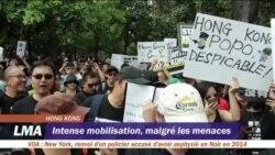 Manifestations de masse à Hong Kong