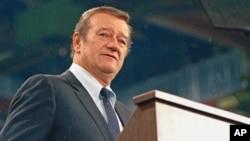 John Wayne, mantan aktor dan sutradara ternama AS yang meninggal tahun 1979.