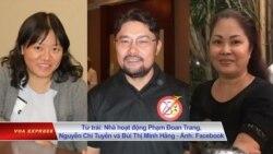 Gặp EU về nhân quyền, 3 nhà hoạt động 'bị bắt cóc'