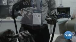 """""""จักรกลเทอร์มิเนเตอร์-เครื่องร่อนไฟฟ้า"""" ไฮไลต์งานเทคโนโลยี CEATEC ของญี่ปุ่น"""