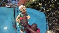 Au Kenya, les marionnettes contre le coronavirus