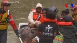 1.200 operaciones de rescate en Houston