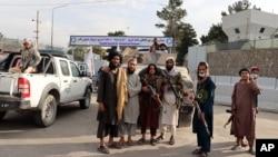 نیروهای طالبان در کابل - آرشیو
