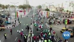 L'éthiopien Shano Share Hiribo remporte le marathon Eiffage de Dakar