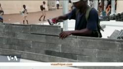 Du plastique recyclé en briques pour construire des écoles