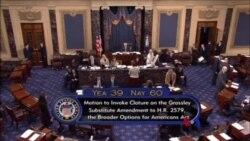 美國參議院四項移民改革議案無一獲得通過