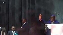 Félix Tshisekedi devant plus de 4000 personnes à Bruxelles