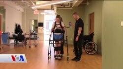 Giyilebilir Robotlar Yeniden Yürümeye Yardımcı Oluyor