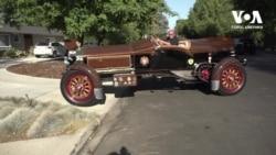 Пенсіонер перетворює ретро вантажівки на коштовні автомобілі