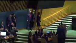 Выступление президента США Дональда Трампа на Генассамблее ООН