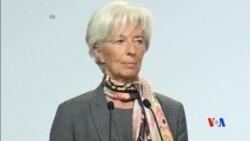 2016-04-05 美國之音視頻新聞: 國際貨幣基金總裁呼籲國際合作促增長