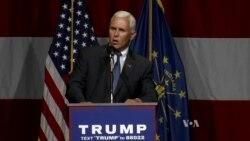 Trump Names Pence as VP Pick
