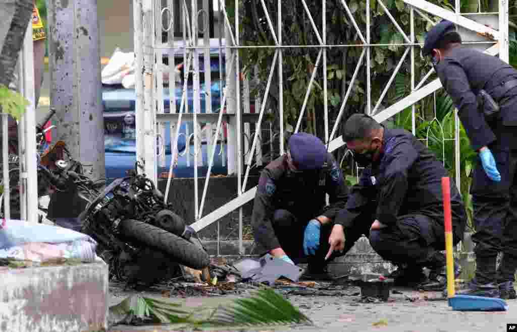 인도네시아 마카사르의 한 교회에서 자살폭탄공격이 발생했다.